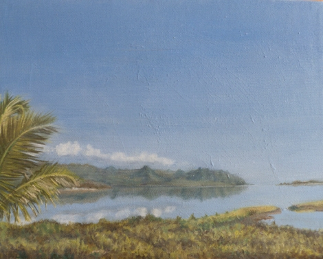 Lanai view # 12, calm.72